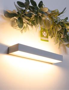 LED 베네 직사각 벽등 12W(화이트/블랙)