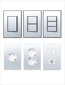 나노 알루미늄 아트 Ⅱ 스위치/콘센트 모음
