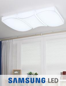 LED 플로우 밀크솔 거실등 150W