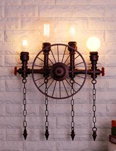 인더스트리얼 휠 4등 벽등