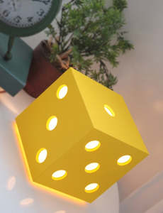 LED 다이스 무드스탠드(옐로우)