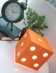 LED 다이스 무드스탠드(오렌지)