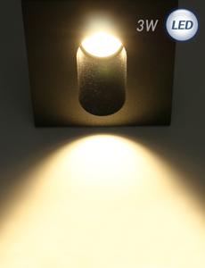 LED 윌리 계단매입등 3W(블랙)