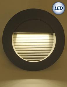 LED 윌슨 계단매입등 6W(그레이)