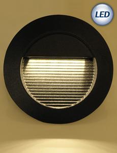 LED 윌슨 계단매입등 6W(블랙)