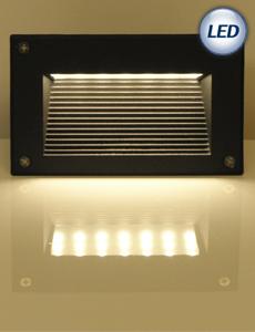 LED 넥서스 계단매입등 6W(블랙)