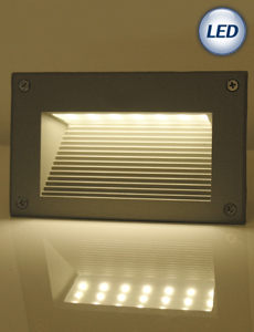 LED 넥서스 계단매입등 6W(그레이)
