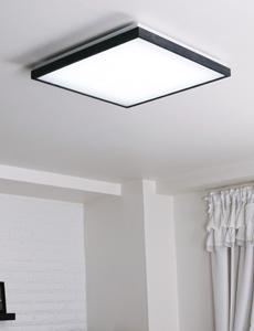 LED 파테르 정사각 방등 50W(블랙)