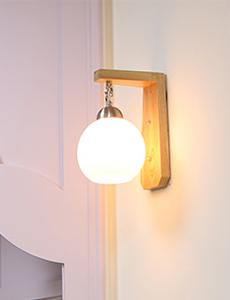 코미 원목 1등 벽등