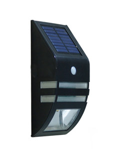 LED 태양광 칩 2구 센서 벽부등(SMT LED)[품절]